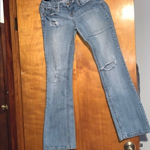 Like New - ZCO Premium Ripped Jeans Size 5
